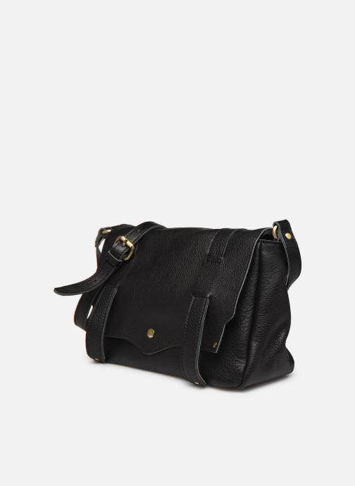 Bolsos de mano Georgia Rose Mulan Leather Negro vista del modelo