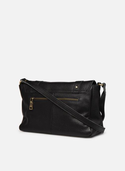Handtassen Georgia Rose Mulan Leather Zwart rechts