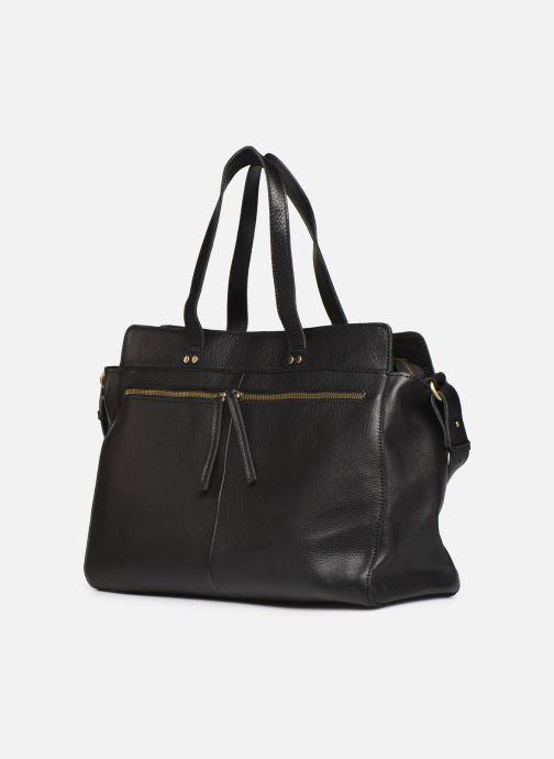 Handbags Georgia Rose Maki Leather Black model view