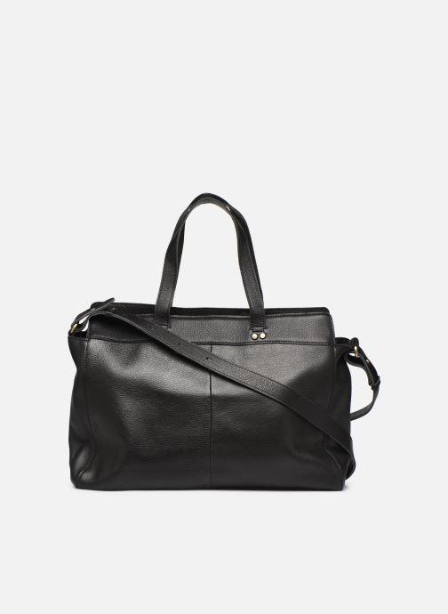Håndtasker Georgia Rose Maki Leather Sort se forfra
