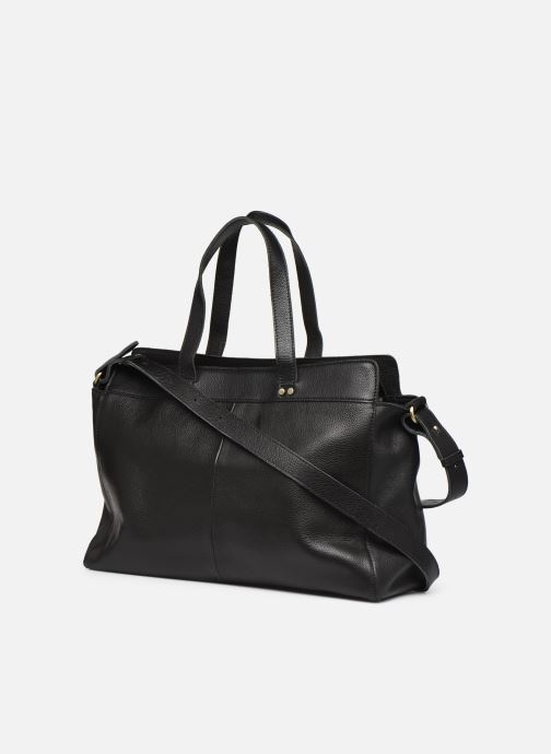 Bolsos de mano Georgia Rose Maki Leather Negro vista lateral derecha