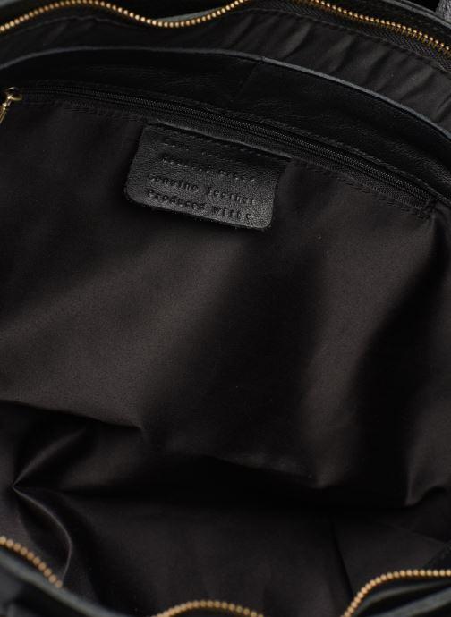 Håndtasker Georgia Rose Maki Leather Sort se bagfra