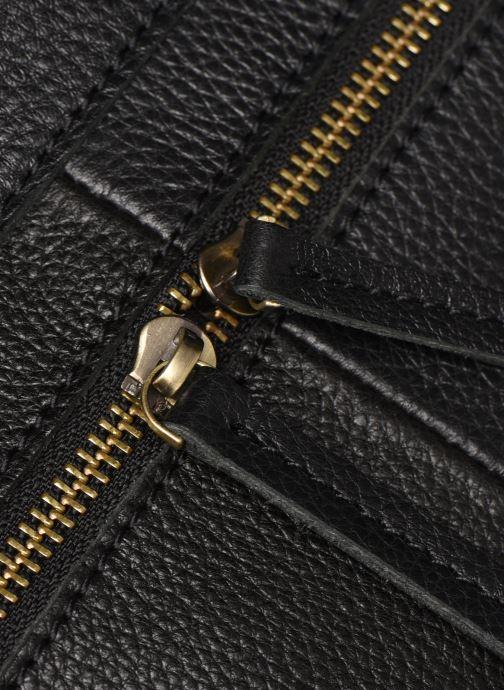 Sacs à main Georgia Rose Maki Leather Noir vue gauche