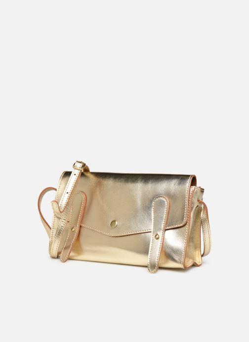 Handtaschen Georgia Rose Milo Leather gold/bronze schuhe getragen