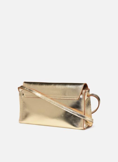Handtassen Georgia Rose Milo Leather Goud en brons rechts
