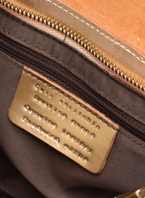 Handtassen Georgia Rose Milo Leather Goud en brons achterkant
