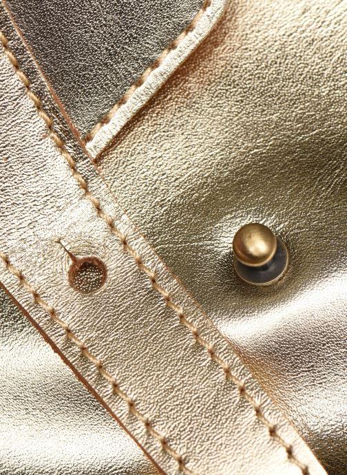Handtaschen Georgia Rose Milo Leather gold/bronze ansicht von links