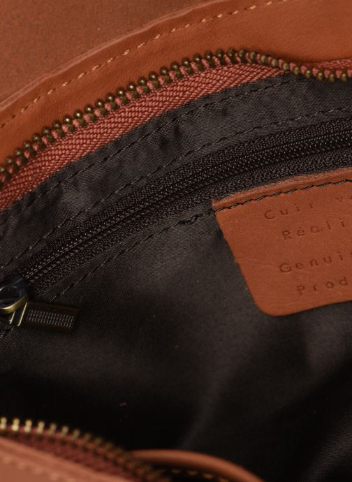 Borse Georgia Rose Milo Leather Marrone immagine posteriore