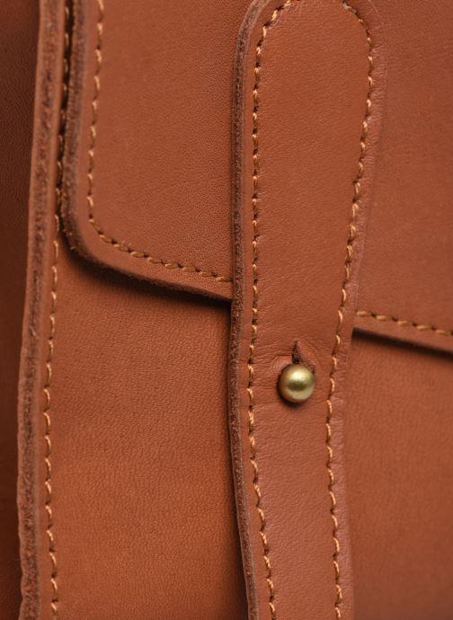 Borse Georgia Rose Milo Leather Marrone immagine sinistra