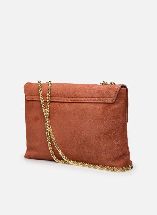 Handtaschen Georgia Rose Mala Leather orange ansicht von rechts