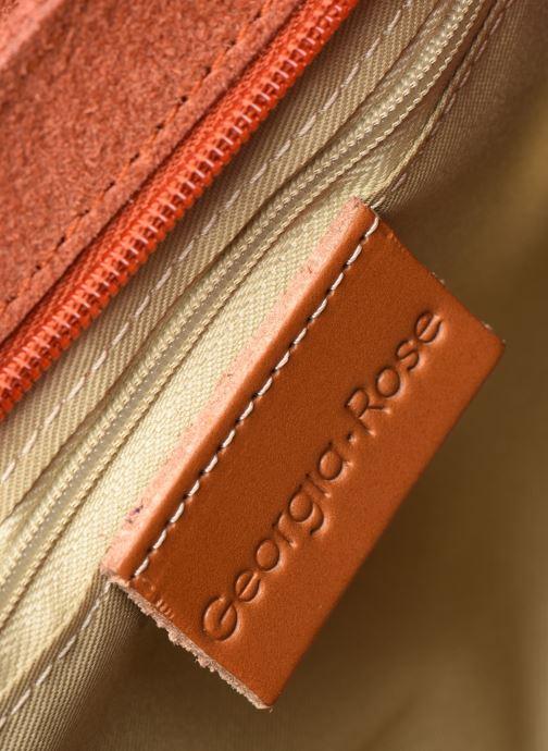 Handtaschen Georgia Rose Mala Leather orange ansicht von hinten