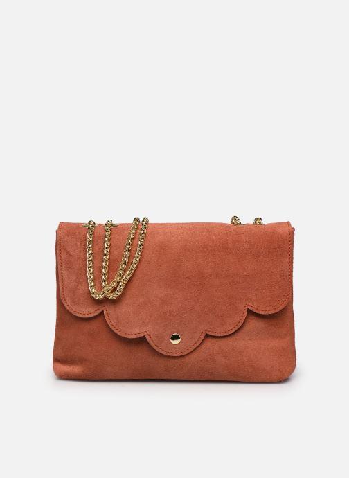 Bolsos de mano Georgia Rose Mala Leather Naranja vista de detalle / par