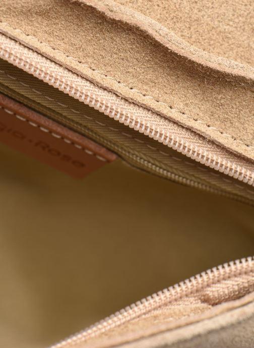 Sacs à main Georgia Rose Mala Leather Beige vue derrière