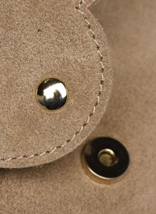 Sacs à main Georgia Rose Mala Leather Beige vue gauche