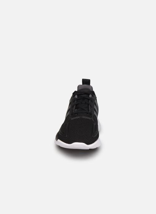 Sneaker adidas originals Zx 2K Adiprene X J schwarz schuhe getragen