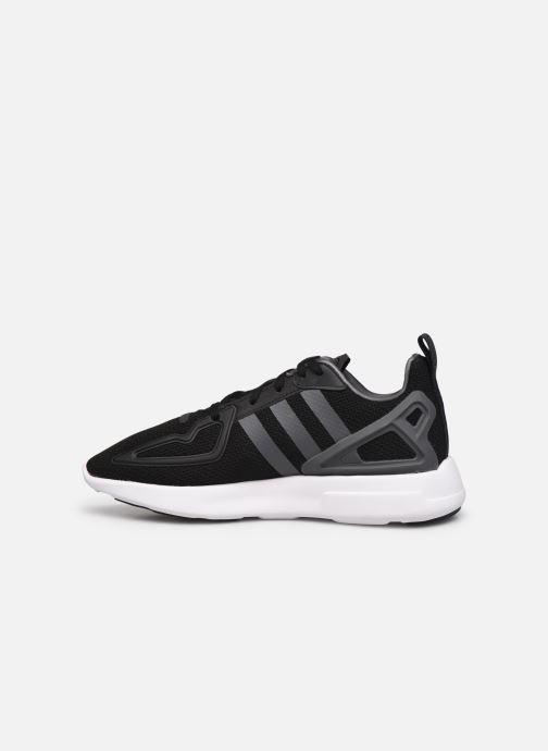 Sneaker adidas originals Zx 2K Adiprene X J schwarz ansicht von vorne