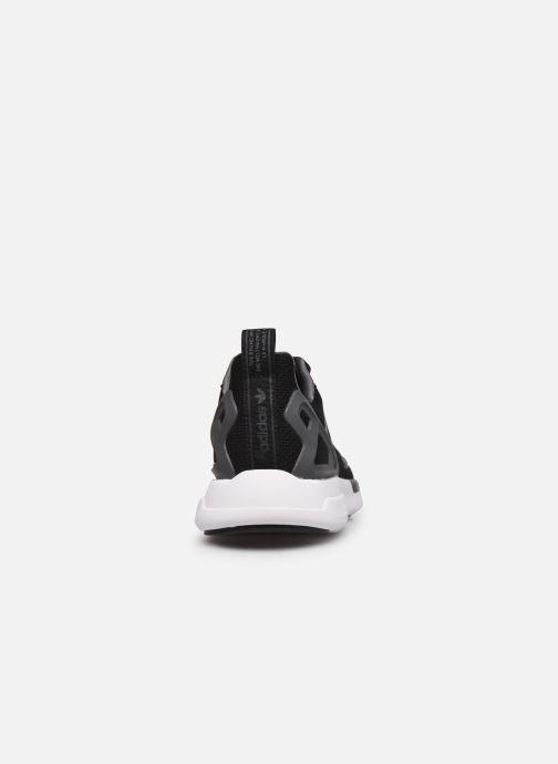 Sneaker adidas originals Zx 2K Adiprene X J schwarz ansicht von rechts