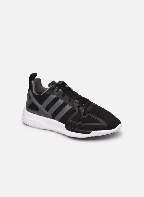 Baskets adidas originals Zx 2K Adiprene X J Noir vue détail/paire