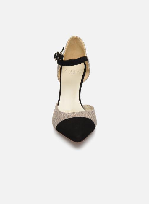 Zapatos de tacón Anaki BARRA Beige vista del modelo