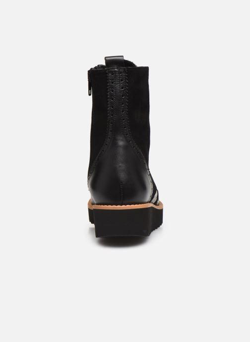 Bottines et boots Anaki JANE Noir vue droite
