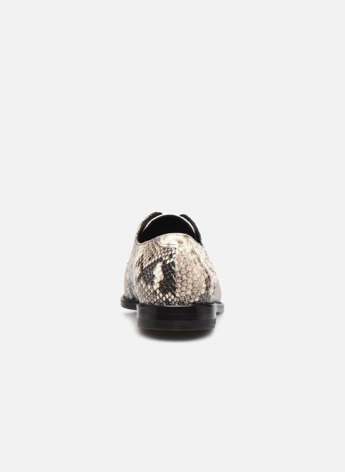 Zapatos con cordones Anaki OTTO Blanco vista lateral derecha
