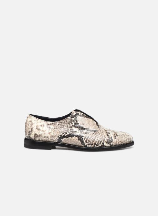 Zapatos con cordones Anaki OTTO Blanco vistra trasera