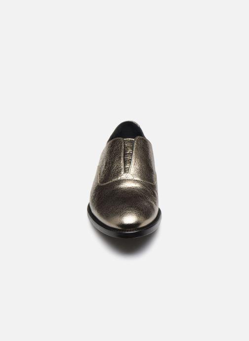 Scarpe con lacci Anaki OTTO Oro e bronzo modello indossato