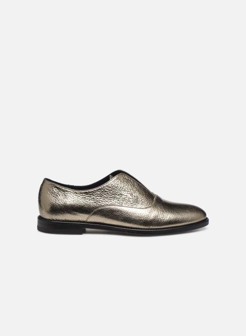 Zapatos con cordones Anaki OTTO Oro y bronce vistra trasera