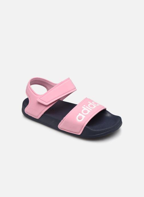 Sandales et nu-pieds adidas performance Adilette Sandal K Rose vue détail/paire