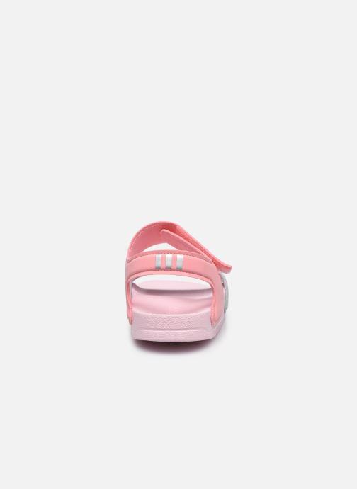 Sandalen adidas performance Adilette Sandal K Roze rechts