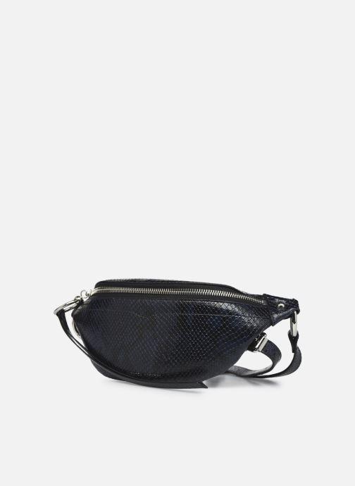 Handtaschen Rebecca Minkoff Mini Sling Python blau schuhe getragen