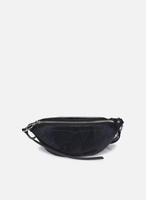 Handtaschen Rebecca Minkoff Mini Sling Python blau detaillierte ansicht/modell