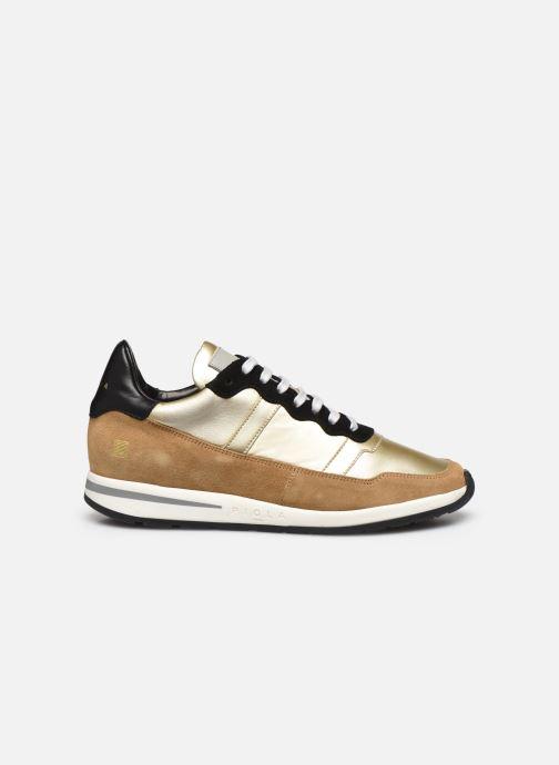 Sneakers Piola Vida Goud en brons achterkant