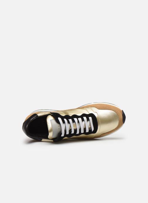 Sneakers Piola Vida Goud en brons links