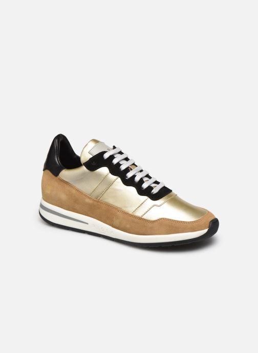 Sneakers Piola Vida Goud en brons detail