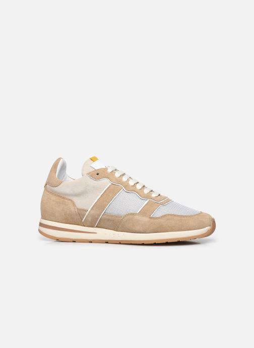 Sneakers Piola Vida Beige achterkant