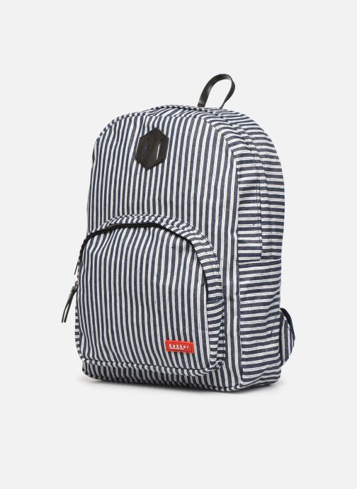 Scolaire Bakker Made With Love BACKPACK GRAND jean Bleu vue portées chaussures