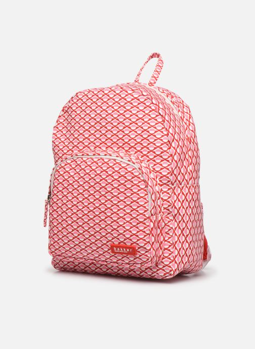 Scolaire Bakker Made With Love BACKPACK MINI canvas bakker Rose vue portées chaussures