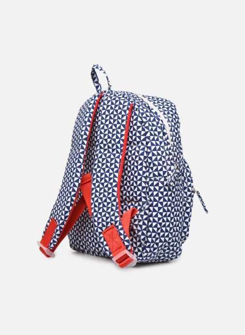 Scolaire Bakker Made With Love BACKPACK MINI canvas bakker Bleu vue droite
