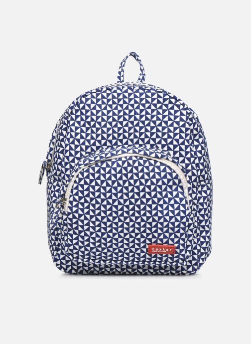 Scolaire Bakker Made With Love BACKPACK MINI canvas bakker Bleu vue détail/paire