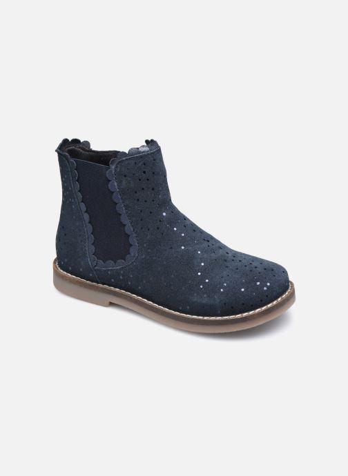 Bottines et boots Rose et Martin KELCY LEATHER 2 Bleu vue détail/paire