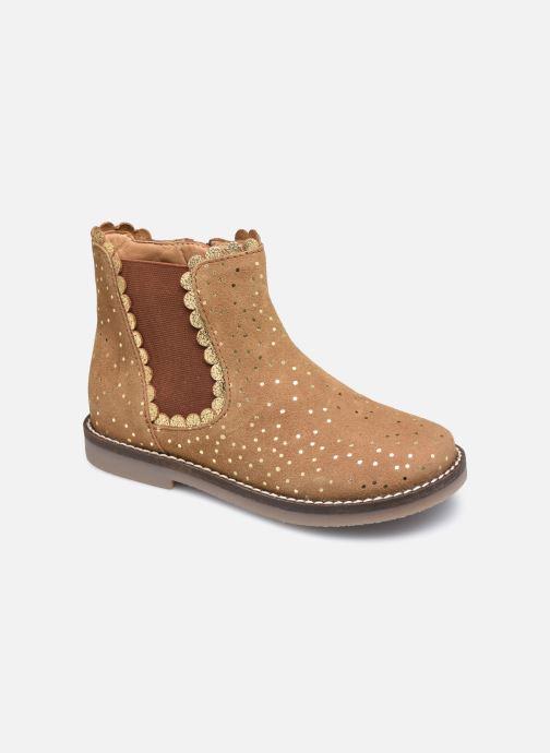 Bottines et boots Rose et Martin KELCY LEATHER 2 Marron vue détail/paire