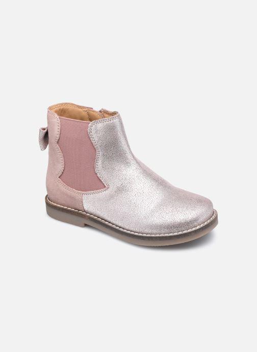 Bottines et boots Rose et Martin KERBILLE LEATHER 2 Rose vue détail/paire