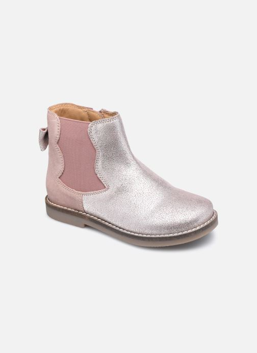 Boots en enkellaarsjes Rose et Martin KERBILLE LEATHER 2 Roze detail