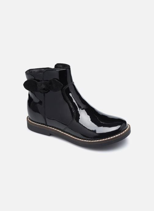 Bottines et boots Rose et Martin KEIZA LEATHER 2 Noir vue détail/paire
