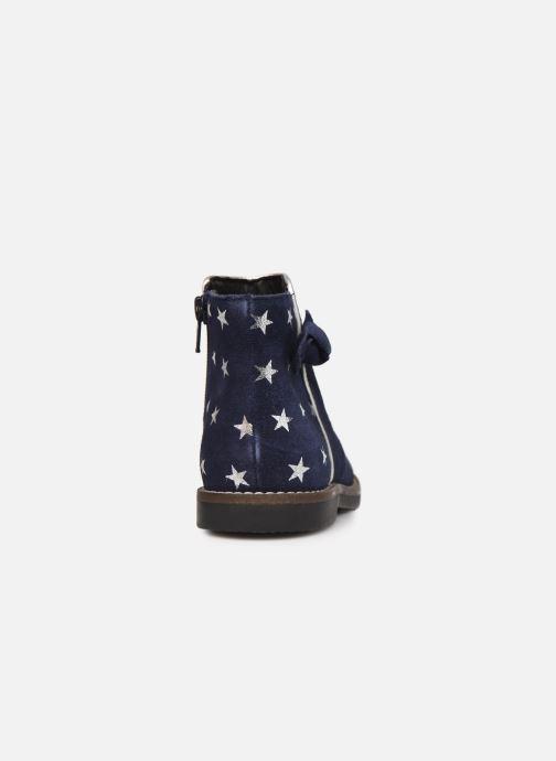 Bottines et boots Rose et Martin KEIZA LEATHER 2 Bleu vue droite