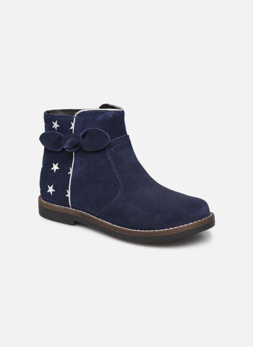 Bottines et boots Rose et Martin KEIZA LEATHER 2 Bleu vue détail/paire