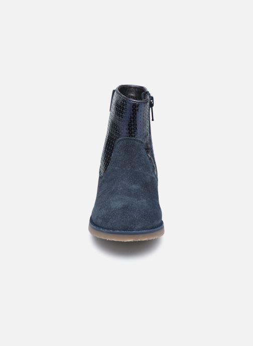 Bottines et boots Rose et Martin KEBOOTS LEATHER Bleu vue portées chaussures