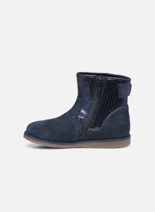 Bottines et boots Rose et Martin KEBOOTS LEATHER Bleu vue face