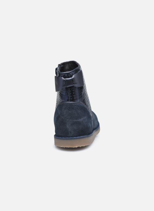 Bottines et boots Rose et Martin KEBOOTS LEATHER Bleu vue droite
